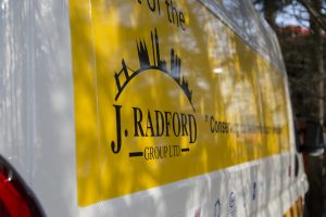 J Radford Group - Benefits of Vehicle Branding